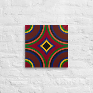 Geometric on Canvas