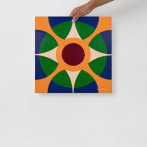 Geometric Giclée Print