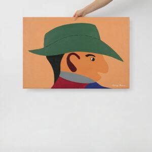 People Giclée Print